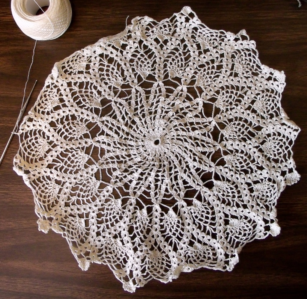 The Big Honking Doily (in progress)