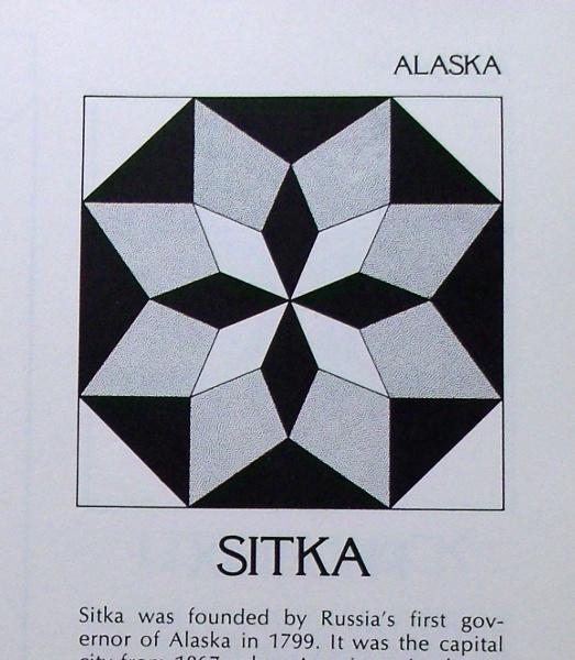 Sitka - State Capitols Quilt Blocks