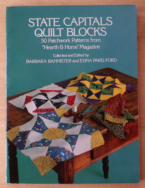 State Capitols Quilt Blocks - Barbara Bannister & Edna Paris Ford