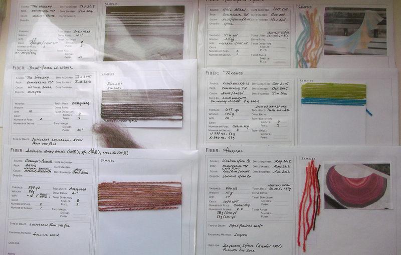 Handspun Journal – free printable sheet